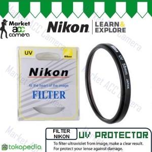 Harga filter uv protector nikon 52mm 58mm for lensa camera | HARGALOKA.COM