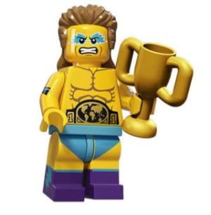 Harga lego minifigure series 15 wrestling | HARGALOKA.COM