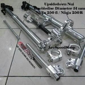 Harga upsidedown nui fullset ninja 250 fi ninja 250r | HARGALOKA.COM