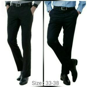 Harga celana kerja model slimfit terbaru untuk cowo laki   HARGALOKA.COM