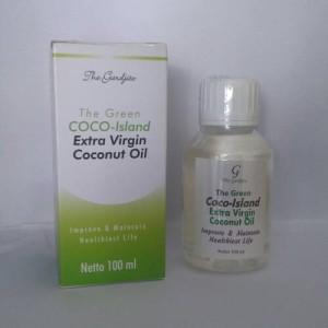 Harga extra virgin coconut oil vco the green coco island wisnu | HARGALOKA.COM