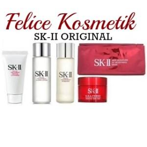 Harga sk ii sk2 skii paket trial medium basic rna power 3d mask antiaging   HARGALOKA.COM