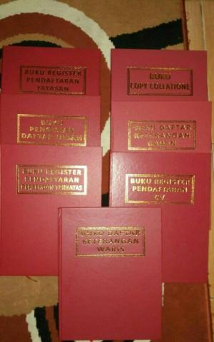 Harga buku daftar untuk notaris amp | HARGALOKA.COM