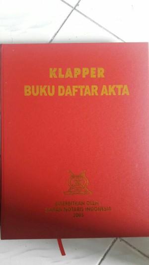 Harga notaris klapper buku daftar | HARGALOKA.COM