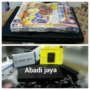 Harga ps 2 slim seri 7 kaset dan hardisk 80gb memory   HARGALOKA.COM