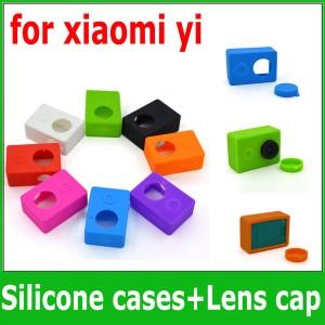 Harga xiaomi yi silicone case lens cap   merah | HARGALOKA.COM