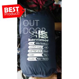 Harga karrimor sleeping bag double polar dacron model tikar   | HARGALOKA.COM