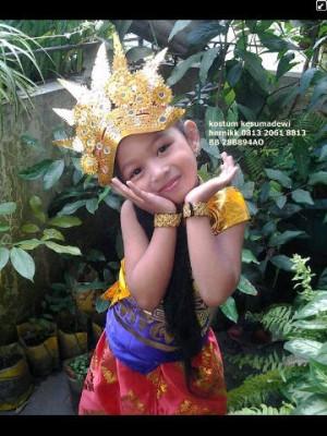 Harga daerah bali tk baju adat kostum karnaval pentas seni anak | HARGALOKA.COM