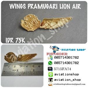 Harga wings pramugari lion | HARGALOKA.COM