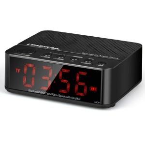 Harga desktop bluetooth speaker alarm clock   | HARGALOKA.COM