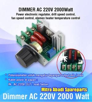 Info Dimmer Ac 220 Volt 4000 Watt Casing Aluminium Katalog.or.id