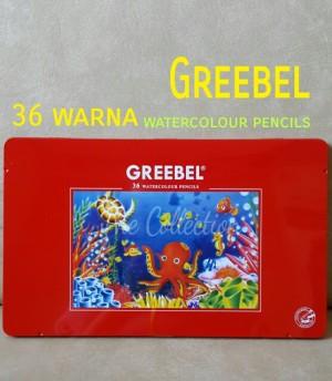 Harga atk0089gb 36 warna kaleng watercolour pencil greebel 2736 pensil | HARGALOKA.COM