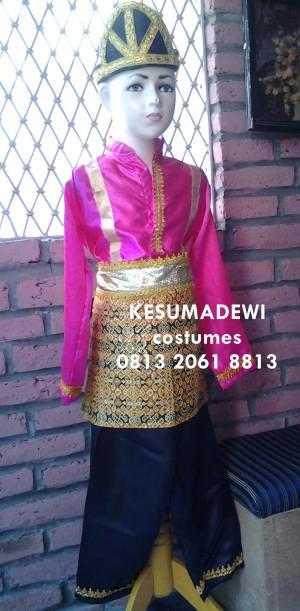 Harga tari saman anak tk baju adat karnaval kostum tradisional daerah | HARGALOKA.COM