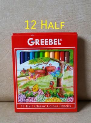 Harga atk0117gb half 12 warna 3012 classic colour pensil warna greebel | HARGALOKA.COM