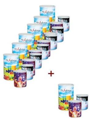 Harga paket 7 set   fit solution total swiss gratis pendaftaran member | HARGALOKA.COM