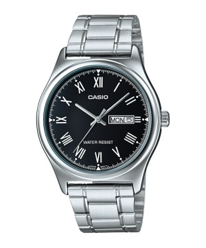 Harga casio analog jam tangan pria silver rantai mtp v006d 1b   HARGALOKA.COM