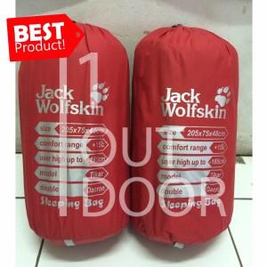 Harga jack wolfskin sleeping bag dacron   | HARGALOKA.COM