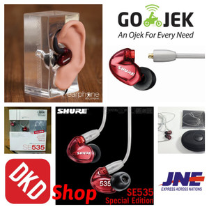 Harga shure se535 special edition sound isolating earphone red | HARGALOKA.COM