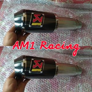 Harga slincer knalpot akrapovic gp m1 lorenzo carbon untuk semua   HARGALOKA.COM