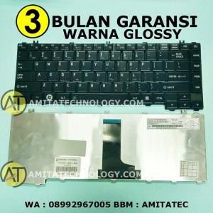 Harga keyboard laptop original toshiba c600 c640 c645 l630 l645 l735 | HARGALOKA.COM