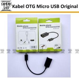 Harga kabel otg on the go micro usb original for android samsung lenovo | HARGALOKA.COM