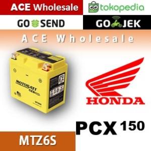 Harga aki pcx 150 honda motobatt mtz6s kering motor u yuasa   HARGALOKA.COM