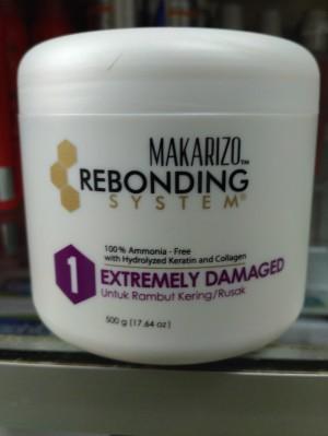 Harga obat bonding makarizo 500 ml extremely damaged rambut kering rusak | HARGALOKA.COM