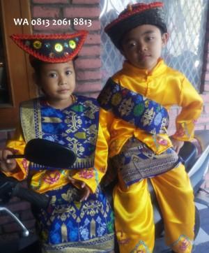 Harga baju adat anak couple kostum daerah ntt nusa tenggara | HARGALOKA.COM