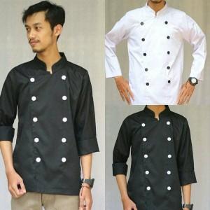 Harga baju chef lengan panjang | HARGALOKA.COM