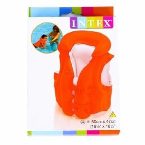Harga intex jaket ban pelampung renang anak orange polos 58671 | HARGALOKA.COM