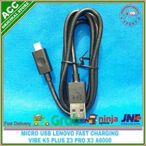 Harga kabel micro usb lenovo vibe z z2 x3 original 100 fast | HARGALOKA.COM