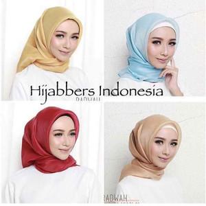 Harga hijab jilbab organza premium silk   jilbab organza premium | HARGALOKA.COM