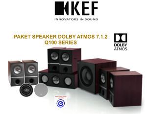 Harga kef q100 paket 7 1 2 dolby atmos home theater speaker sln jbl q b amp w | HARGALOKA.COM