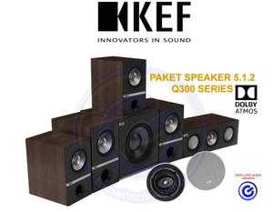 Harga kef q300 paket 5 1 2 dolby atmos home theater speaker sl triangle | HARGALOKA.COM