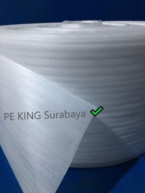 Harga pe foam roll lebar beragam dari 10 cm   120 cm free ongkir sby   HARGALOKA.COM