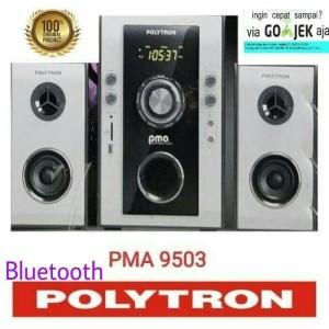 Harga polytron multimedia speaker pma 9503 bluetooth murah     HARGALOKA.COM