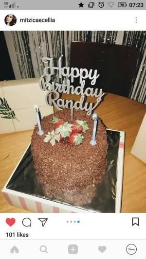 Harga cake topper custom topper hiasan kue murah ulang tahun   | HARGALOKA.COM