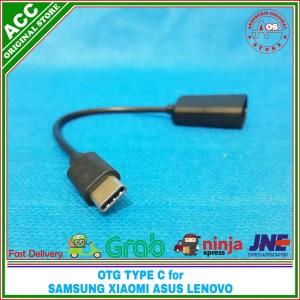 Harga otg cable kabel type c usb hub for samsung xiaomi asus on the go | HARGALOKA.COM