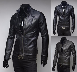 Harga jaket motor kulit asli domba garut kualitas super model   HARGALOKA.COM