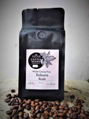 Harga coffee bean biji kopi robusta aceh gayo 100 gr   med to dark   HARGALOKA.COM