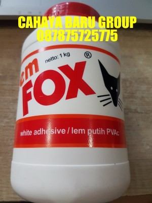 Harga lem fox putih botol 1 | HARGALOKA.COM