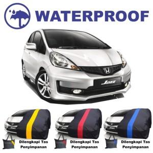 Harga sarung bodi mobil honda jazz body cover anti air waterproof yaris | HARGALOKA.COM