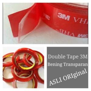 Harga double tape 3m bening transparan asli   | HARGALOKA.COM