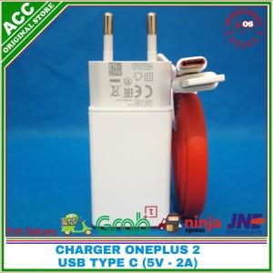 Harga charger oneplus 2 type c original 100 5v | HARGALOKA.COM