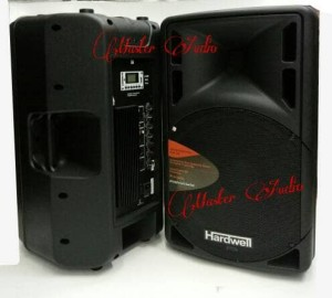 Harga speaker aktive hardwell 15 inc  with usb  sd card | HARGALOKA.COM