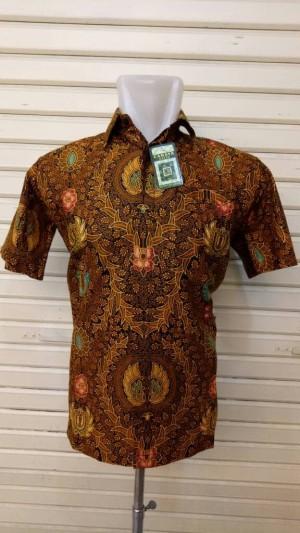 Harga hem batik katun sogan tangan | HARGALOKA.COM