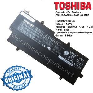 Harga original baterai laptop toshiba portege z830 z835 z930 z935 ultrabook   HARGALOKA.COM