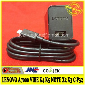 Harga charger lenovo a7000 vibe k4 k5 note x2 x3 c p32 5v 2a original100 | HARGALOKA.COM
