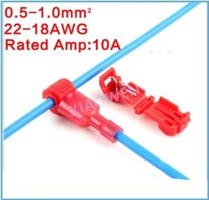 Katalog Merah Snap Lock Quick Splice Wire Connector Jumper Kabel Kupas Lipat Katalog.or.id