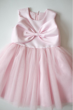 Harga baju pesta pink anak happyelm melinda pita | HARGALOKA.COM